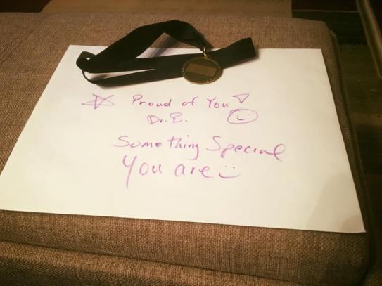CHE Award Ceremony -DR. B's note